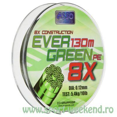 Asso - Fir Evergreen PE 8X 0,27mm / 130m / 25kg