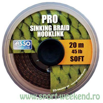 Asso - Fir Pro Soft Sinking Braid Hooklink 20m - 45lb