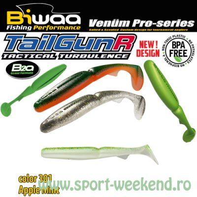 """Biwaa - Shad TailgunR 2.5"""" 6.5cm - cul. 301 Apple Mint"""