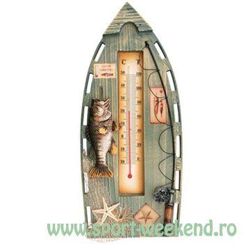 Baracuda - Termometru Pescar de Perete