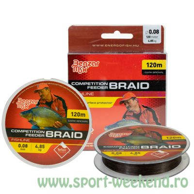 Benzar Mix - Fir Competition Feeder Braid 0,10mm - 120m - 6,33kg