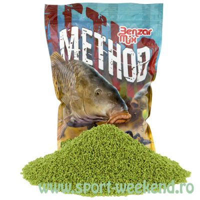 Benzar Mix - Pelete Method 2mm Green Betaine