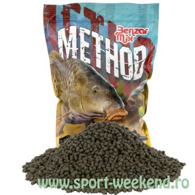Benzar Mix - Pelete Premium Black Halibut 4,5mm