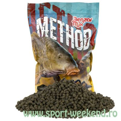 Benzar Mix - Pelete Premium Black Halibut 6mm