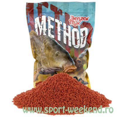 Benzar Mix - Pelete Method 2mm Capsuni