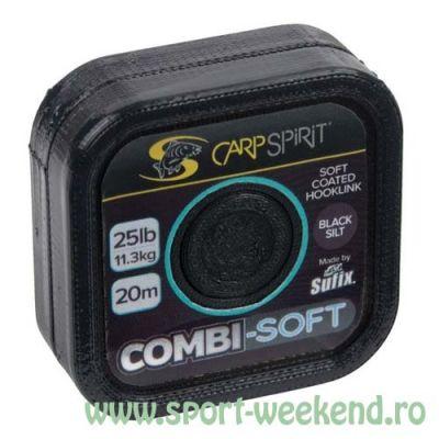 Carp Spirit - Fir Combi-Soft Black Silt - 20m - 35lb