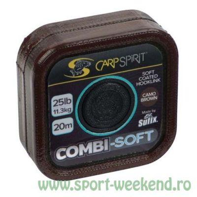 Carp Spirit - Fir Combi-Soft Camo Brown - 20m - 35lb