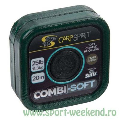 Carp Spirit - Fir Combi-Soft Camo Green - 20m - 20lb