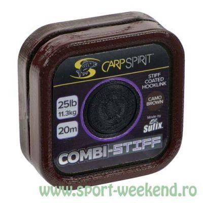 Carp Spirit - Fir Combi-Stiff Camo Brown - 20m - 25lb