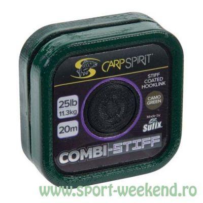 Carp Spirit - Fir Combi-Stiff Camo Green - 20m - 15lb