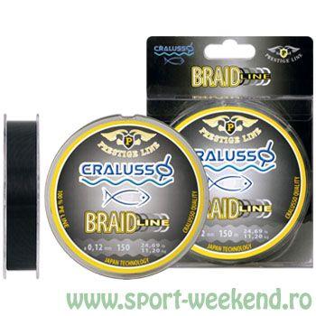 Cralusso - Fir textil Braid Line 0,12mm - 150m - 11,20kg