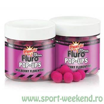 Dynamite Baits - Pop-up Fluro Mulberry Florentine Fluro Pop-ups 10mm