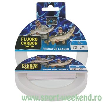 EnergoTeam - Fir inaintas L&K Fluorocarbon Coated 0,30mm - 10m - 8.37kg