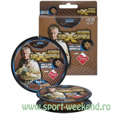 EnergoTeam - Fir Koos 12x Spin Braid 0,28mm - 150m - 31,8kg