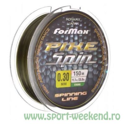 Formax - Fir Pike Spin 0,25mm - 150m - 8,6g