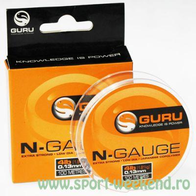 Guru - Fir N-Gauge 100m - 0,19mm - 7lb