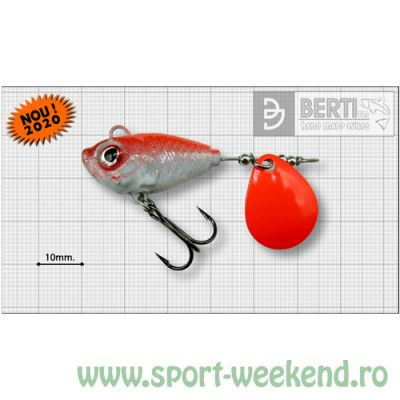 Berti - Spinnertail Fishelic Colorado Orange nr.5 /21g - Red Back