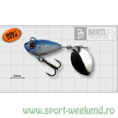 Berti - Spinnertail Fishelic Olympic nr.3 /14g - Blue Back