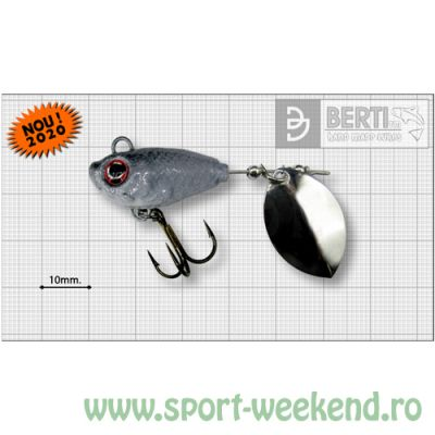 Berti - Spinnertail Fishelic Olympic nr.3 /14g - Shad