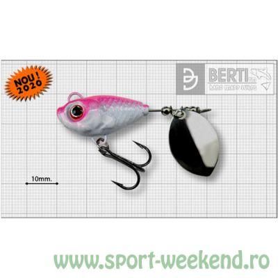 Berti - Spinnertail Fishelic Olympic nr.4 /17g - Pinky
