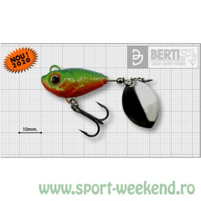 Berti - Spinnertail Fishelic Olympic nr.4 /17g - Fire-Tiger