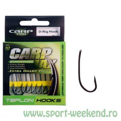 Carp Pro - Carlige Carp Max D-Rig nr.6