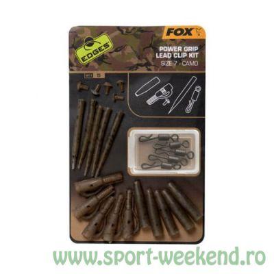 Fox - Kit Edges Camo Power Grip Lead Clip nr.7