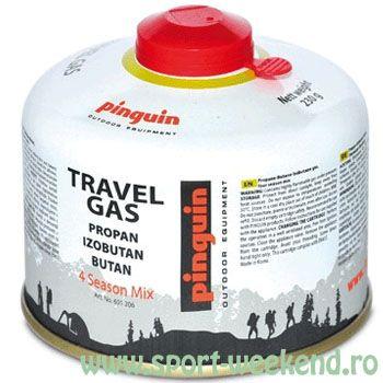 Pinguin - Butelie cu valva Travel Gas 230 g