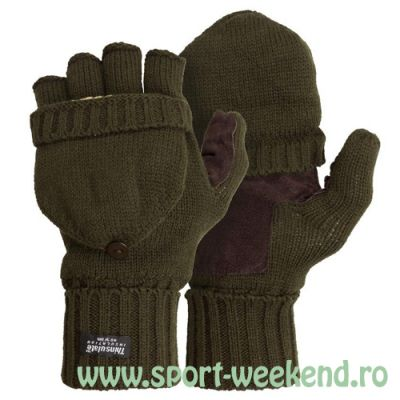 M-Tramp - Manusi Thinsulate Shooter`s Olive - XL