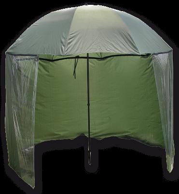 Carp Zoom - Umbrela cu Paravan 250cm