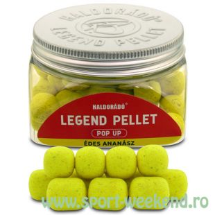 Haldorado - Legend Pellet Pop-Up 12,16mm - Ananas Dulce