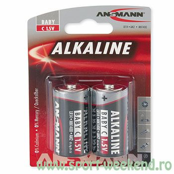 Ansmann - Baterii alcaline R14