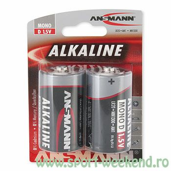 Ansmann - Baterii alcaline R20