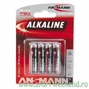 Ansmann - Baterii alcaline R3