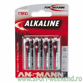 Ansmann - Baterii alcaline R6