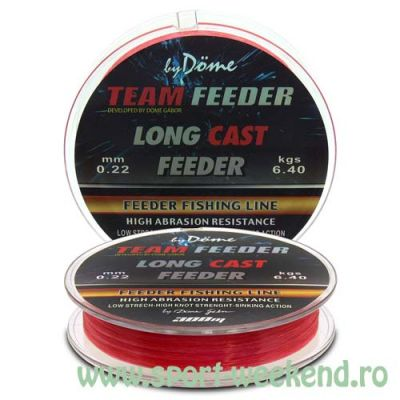 By Döme - Fir TEAM FEEDER Long Cast Line 0,25mm - 300m - 8,6kg