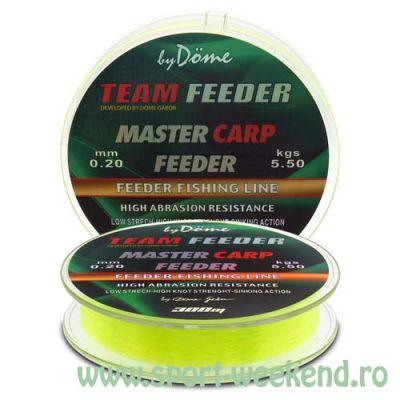 By Döme - Fir TEAM FEEDER Master Carp 0,22mm - 300m - 6,4kg