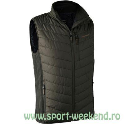 Deerhunter - Vesta Moor Padded Waistcoat w. Softshell nr.XL